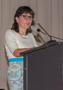 Dr. Helga Eitzenberger-Wollring hielt die Eröffnunsgrede und moderierte die Lossprechung.