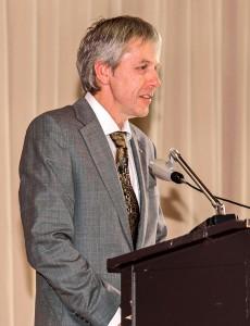 Dr. Ludger Wollring, Vorsitzender der Ärztekammer Kreisstelle Essen